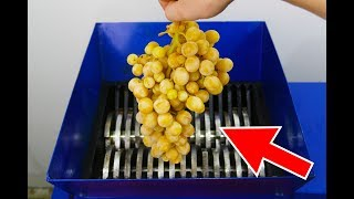 SHREDDING FROZEN FRUITS AND VEGETABLES
