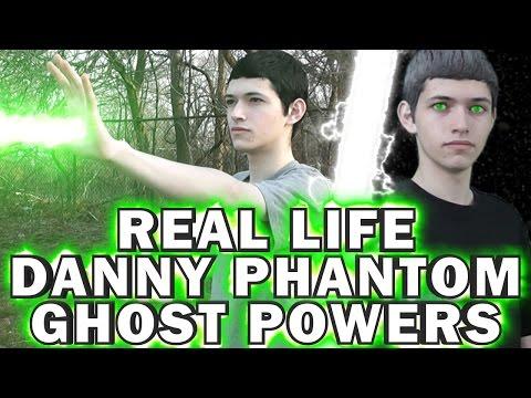 REAL LIFE Danny Phantom Ghost Powers (Live Action Danny Phantom)