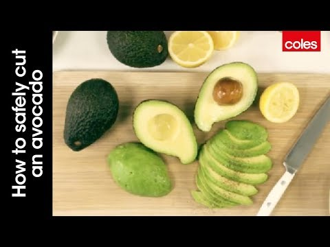 This is how to safely cut an avocado