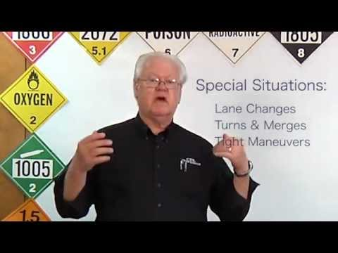 CDL Lesson Driving Safely Part 1
