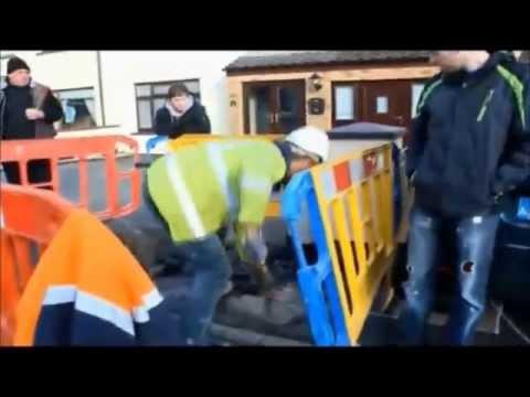 Irish Water Meter Installer Throws Barrier At A Residents Car