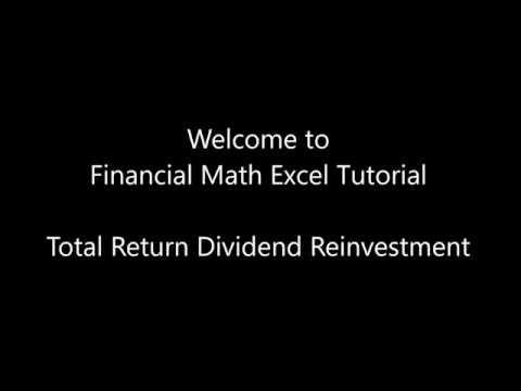 9) Total Return Dividend Reinvestment