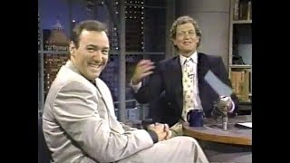 Kevin Spacey on Late Night, June 22, 1990