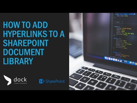 How to add Hyperlinks to a SharePoint Document Library