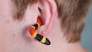 SNAKE IN EAR!