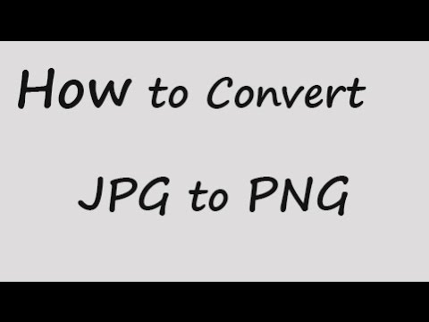 How to convert JPEG to PNG format in paint
