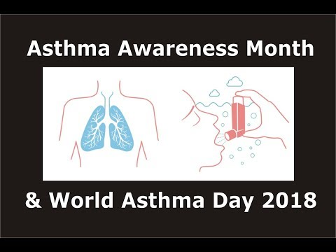 Asthma Awareness Month & World Asthma Day 2018