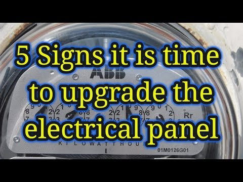 5 Signs it's time to upgrade the electrical panel