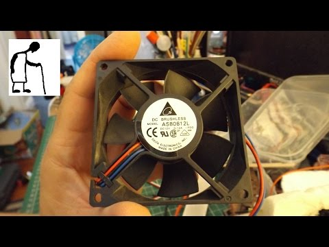 Can you control a 3 wire PC fan with an ESC?