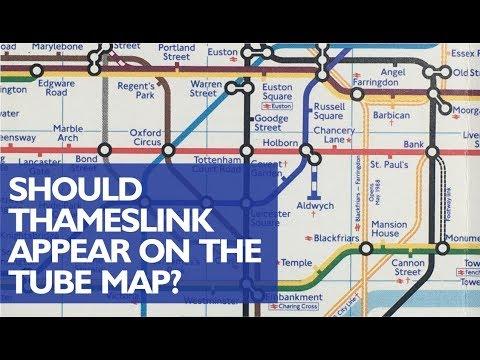 Thameslink on the Tube Map