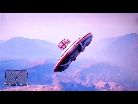 gta5 flying a UFO (online)
