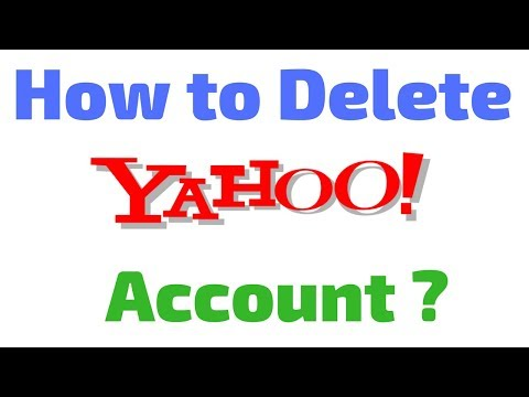 How to Delete Yahoo mail Account in Hindi