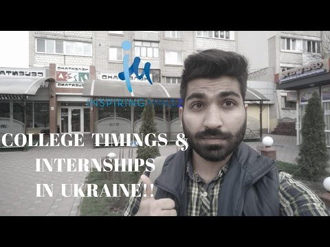 COLLEGE TIMINGS AND INTERNSHIPS IN UKRAINE |  Study MBBS Abroad Q&A #7