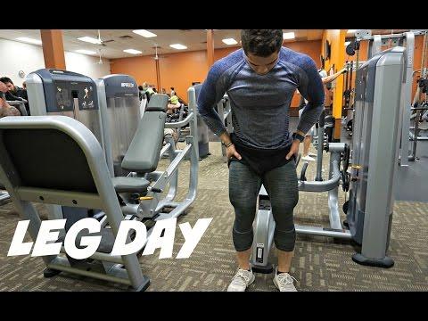 Leg Day With Carlin Powe