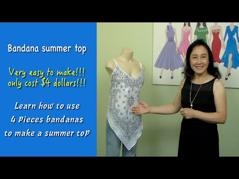 How to make summer tops