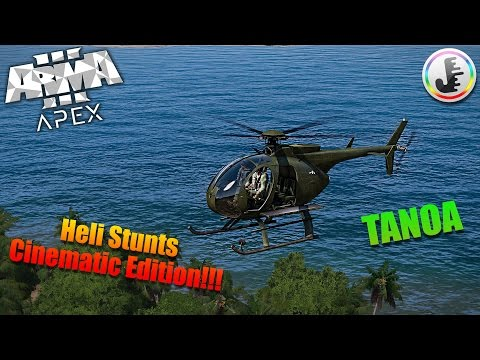 Arma 3 Apex, Helicopter Stunts Cinematic Edition!!!