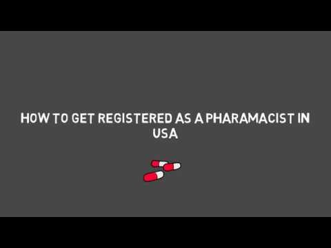 how to register as a pharmacist in USA