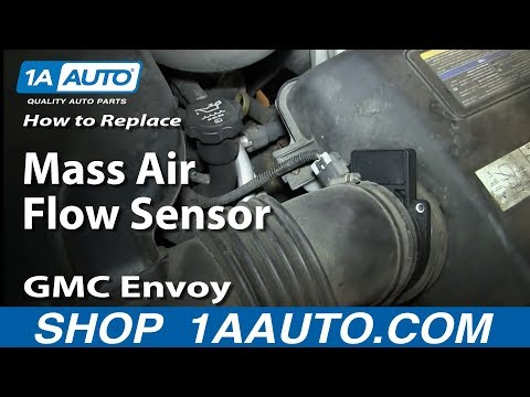 How To Install Repalce MAF Mass Air Flow Sensor v8 5.3L GMC Envoy and XL XUV