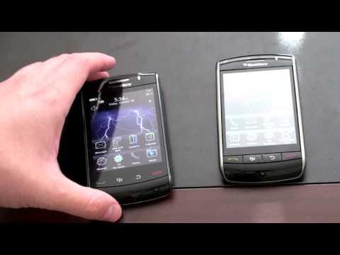 Blackberry Storm 2 Vs. BlackBerry Storm 1