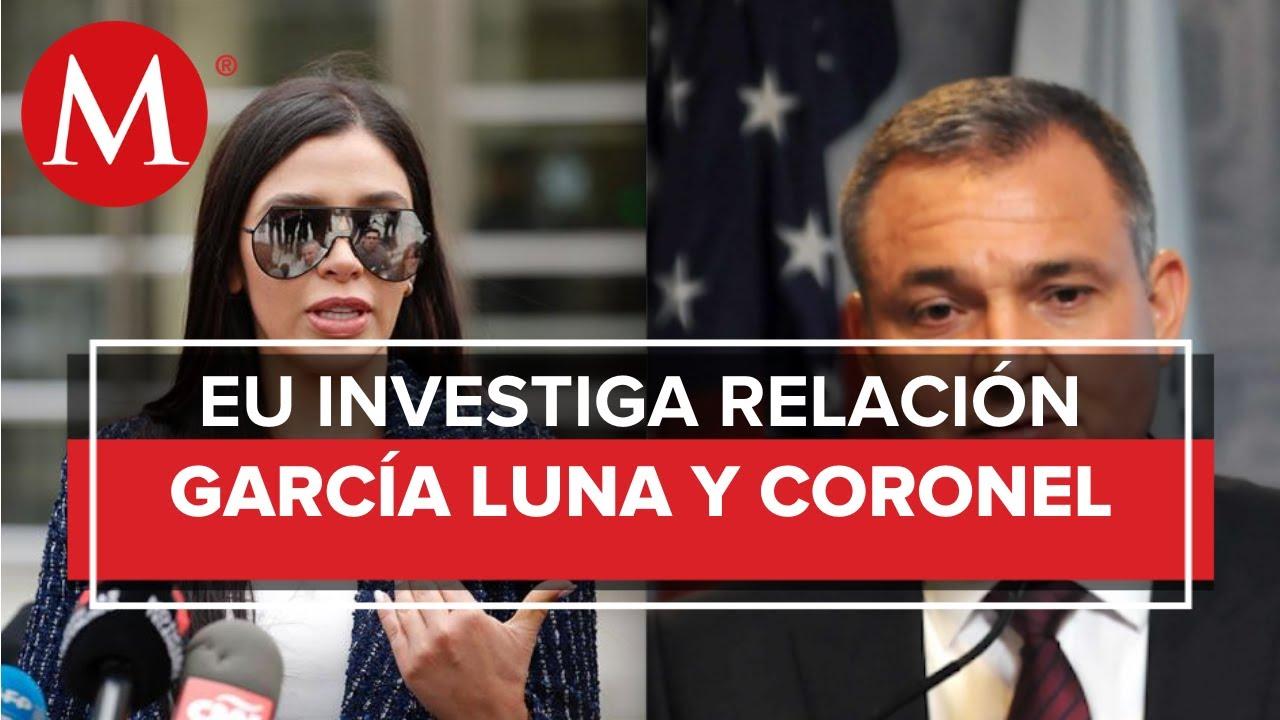 ¿Qué relación podría haber entre Emma Coronel y Genaro García Luna?