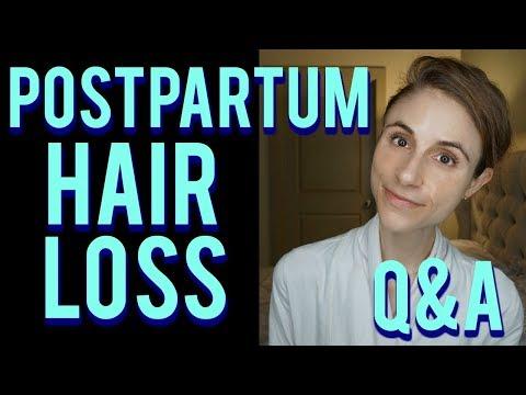 Postpartum hair loss Q&A with a dermatologist: hair care tips 👶🍼💇
