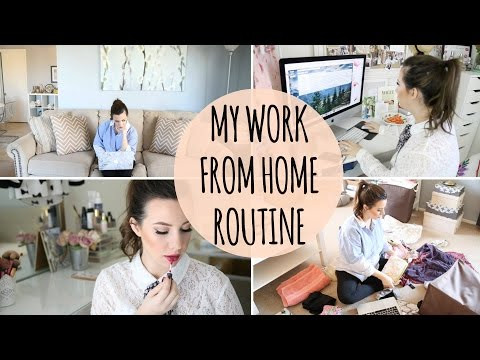 My Work From Home Routine: Tips & Daily Schedule | Hayley Paige