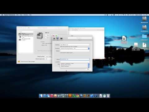 Printer Installation Ricoh on MAC