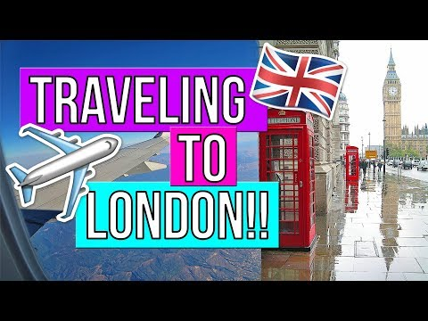 TRAVELING TO LONDON!! TRAVELING TO LONDON FOR THE FIRST TIME!! TRAVELING TO EUROPE! TRAVEL VLOGS!!
