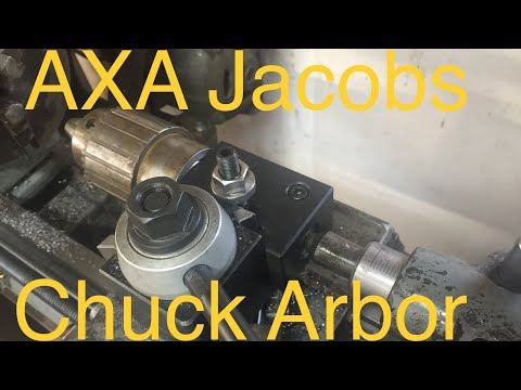 Machining Drill Chuck Arbor for AXA Tool Post Boring Bar Holder Adapter