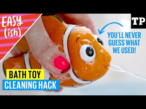 How to clean bath toys with this SURPRISING hack   Easy(ish) bonus
