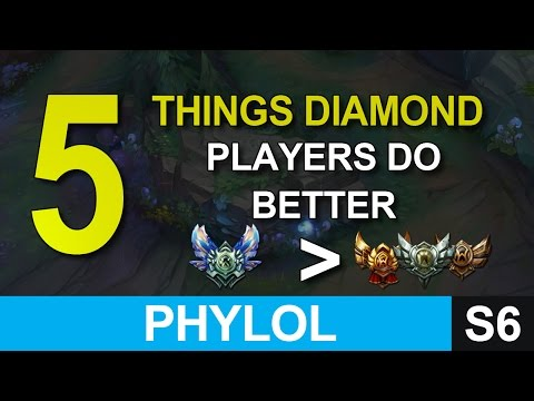 5 things diamond players do better than low elo ones - League of Legends