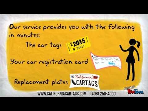 DMV Car Registration Renewal. VIN verification, Lien Sales