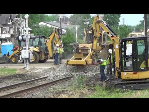 Crossing Replacement - Railfanning Around South Jersey June 2016