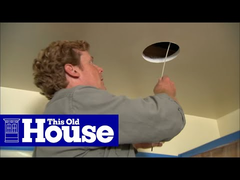 How to Install Recessed Lights - This Old House