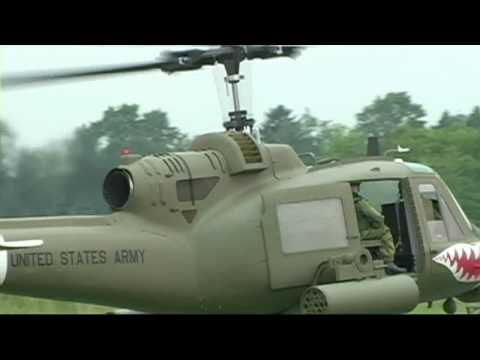 UH-1C Huey Turbine Powered Helicopter