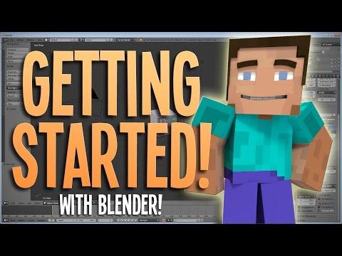 Getting Started! - Blender Minecraft Animation Tutorial | 1