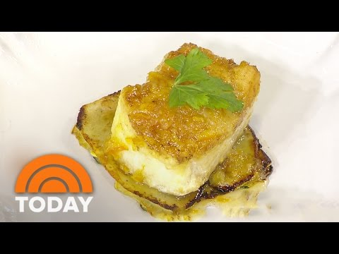 Chilean Sea Bass With Orange Marmalade For The Holidays | TODAY