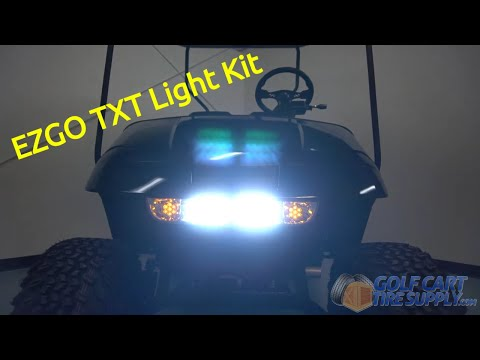 EZGO TXT Light Kit (Street Legal) for 1993-2013 Carts - GCTS