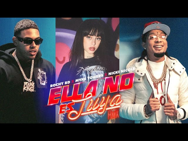 Ella No Es Tuya - Remix - Rochy RD