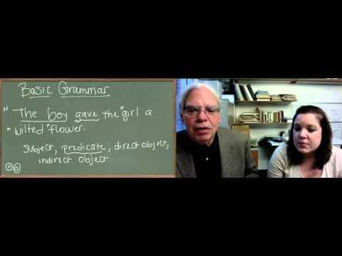 Learn Ancient Greek: 3_Unit1 Basic English Grammar 1