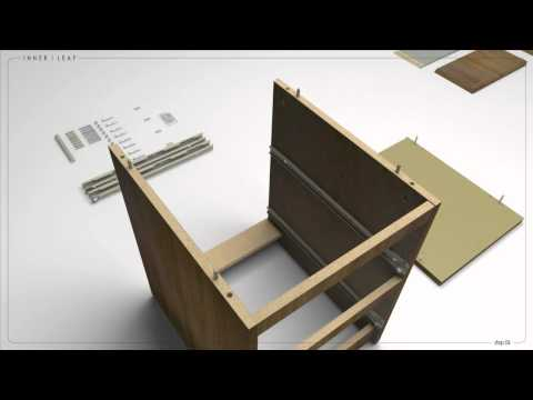 IKEA MALM INSTRUCTIONS USING 3D ANIMATION