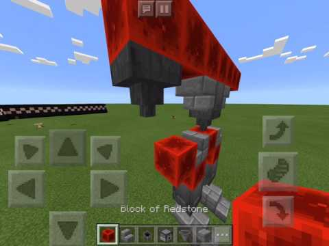 How to Make a Robot in Minecraft PE