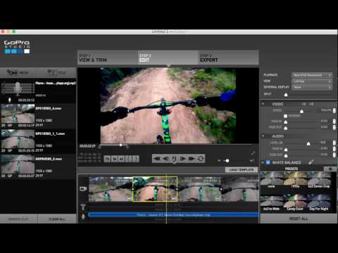How to edit/combine GoPro videos on a mac