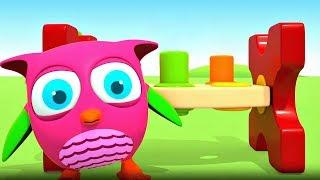 Download Развивающие мультики для малышей Совенок ХопХоп - Сборник Video