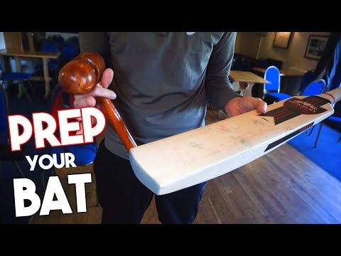 How to KNOCK in a NEW Cricket Bat