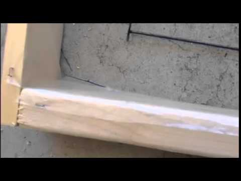 How to make a concrete bench