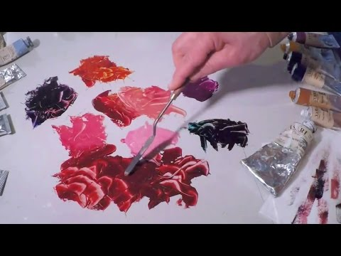 Alizarin Crimson Colour Mixing - Vasari Classic Oil Colour