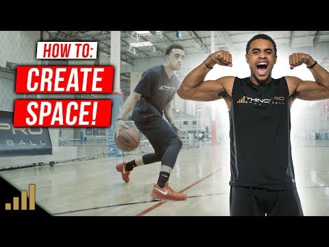 How to: Create Space Off The Dribble in Basketball! (USE THESE NBA MOVES!)