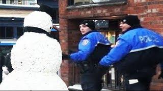 SCARY SNOWMAN PRANK 2011 FULL SEASON (38 mins)