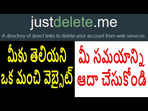 HOW TO DELETE YOUR UNUSED ONLINE ACCOUNTS